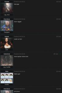 Et eksempel fra forumet der kvaliteten på innholdet er veldig lav.